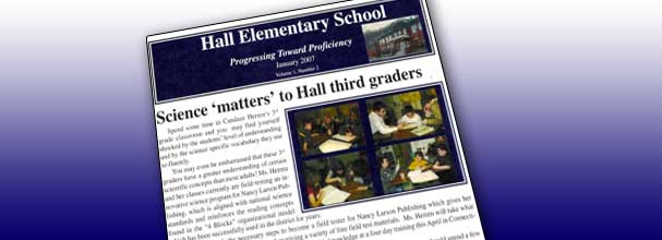 """Science """"matters"""" to Hall Elementary third graders"""