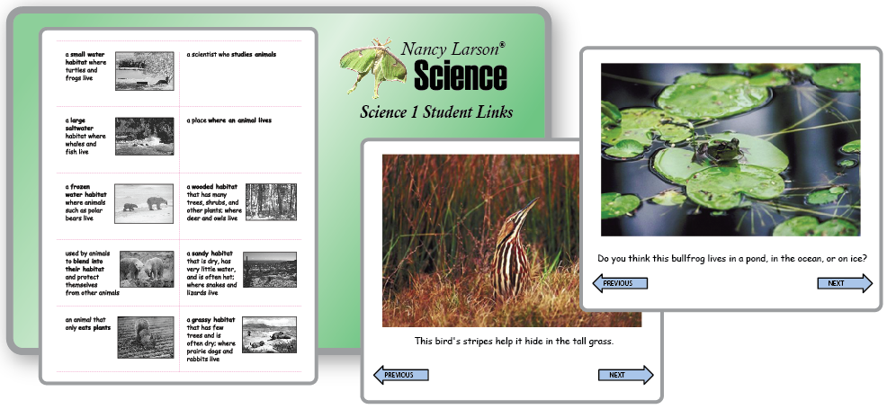Science 1 website