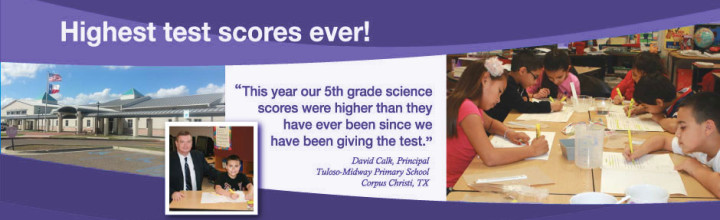 Texas Public School reports outstanding results with Nancy Larson Science