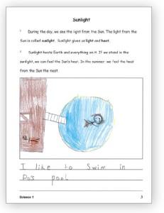 Science 1 Booklet Sample
