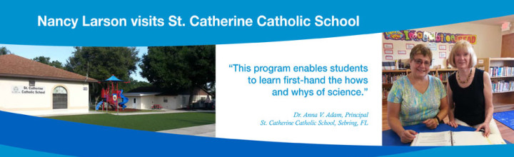 Nancy Visits St. Catherine Catholic School in Sebring, Florida