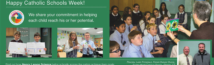 Happy Catholic Schools Week!