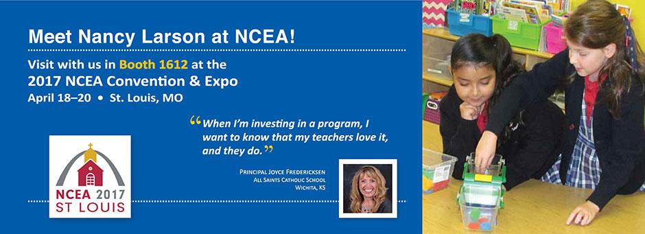 Meet Nancy Larson at NCEA!