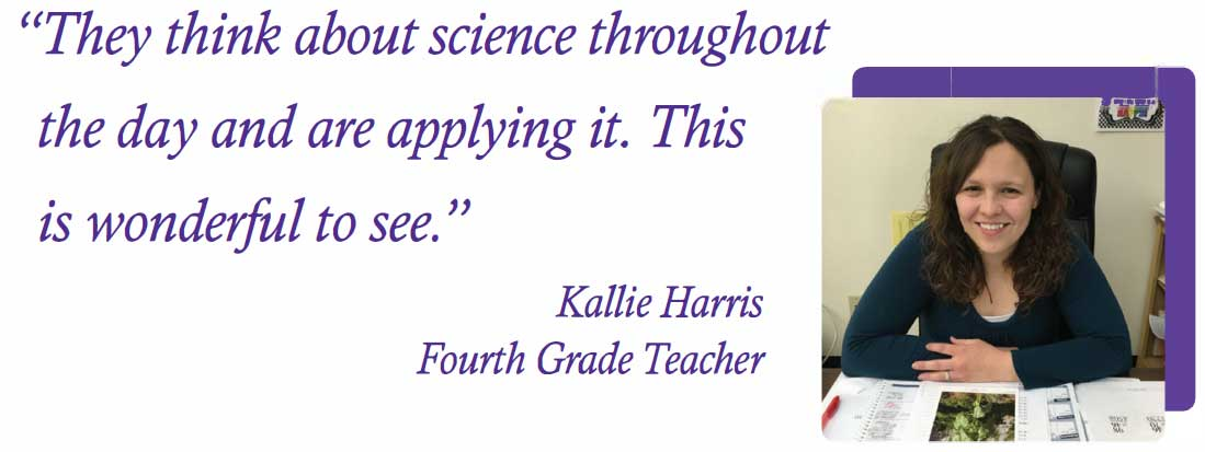 Kallie Harris - Fourth Grade Teacher