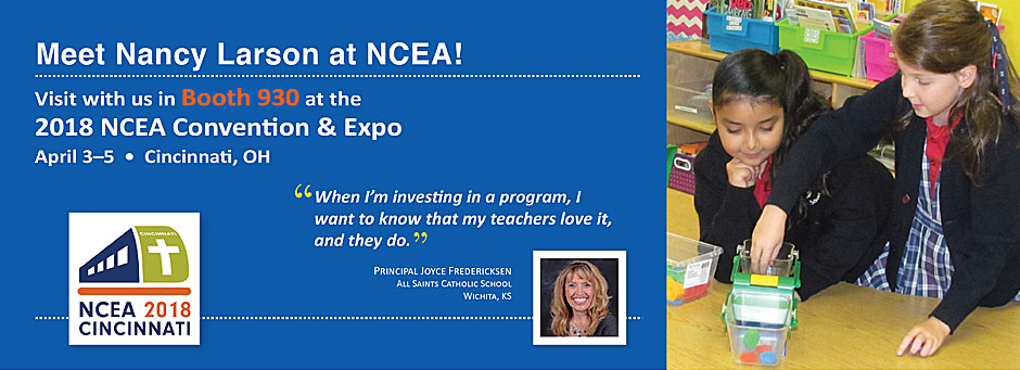 Come visit Nancy at NCEA!