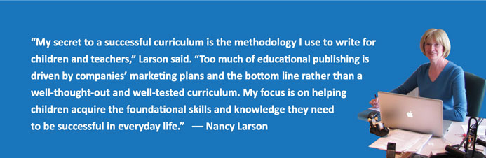 Nancy Larson Quote